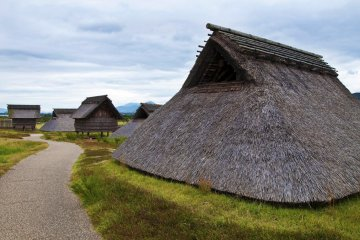 <p>Minami-no-mura (South Village): This is the area where ordinary people called &quot;geko&quot; lived.</p>