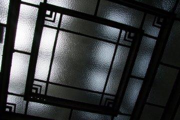 Art deco ceiling.