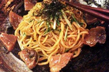 Yakisoba at Shishin Samurai Cafe and Bar