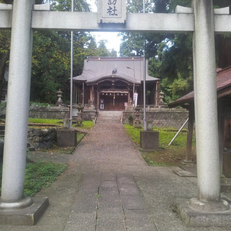 Suwa Shrine in Yuzawa