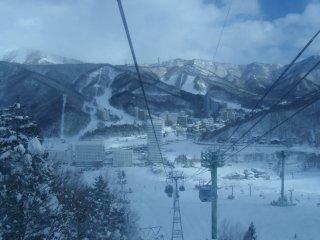 Pemandangan dari gondola