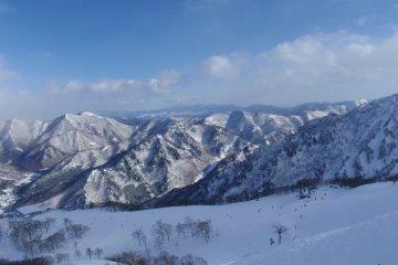 Views of Naeba Ski Resort