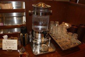 水出しコーヒー。これもまた美味しい