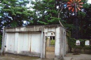 领事馆的废墟遗址