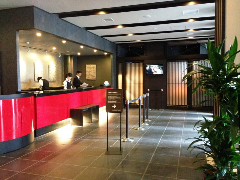 The staff at Dormy Inn are waiting to welcome you to Kyoto.