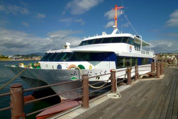The day cruise boat