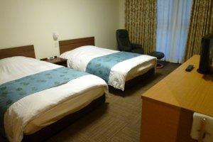 Standard Western style twin room