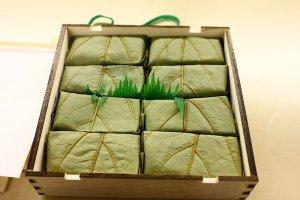 奈良 平宗 柿の葉壽司