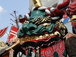 A float from the Karatsu Kunchi festival