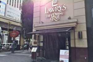 Lawry's The Prime Rib Tokyo located at Akasaka Twin Tower Building (Moving to Ebisu Garden Place April 2014)