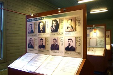 Many fine men graduated from Sapporo Agricultural building and played leading roles in Sapporo's development.