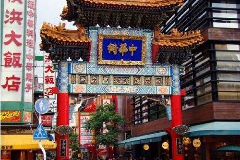 人气极汪的摄影地点--中华街大门