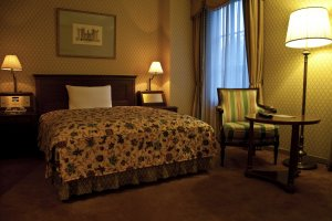 A standard guestroom