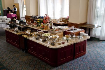 Fantastic buffet style breakfast