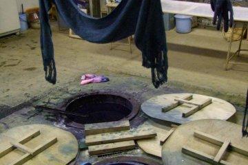 Dye workshop.