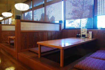 Japanese style restaurant