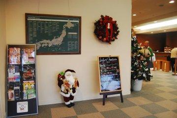 Christmas atmosphere in Grantia Hanyu Hotel