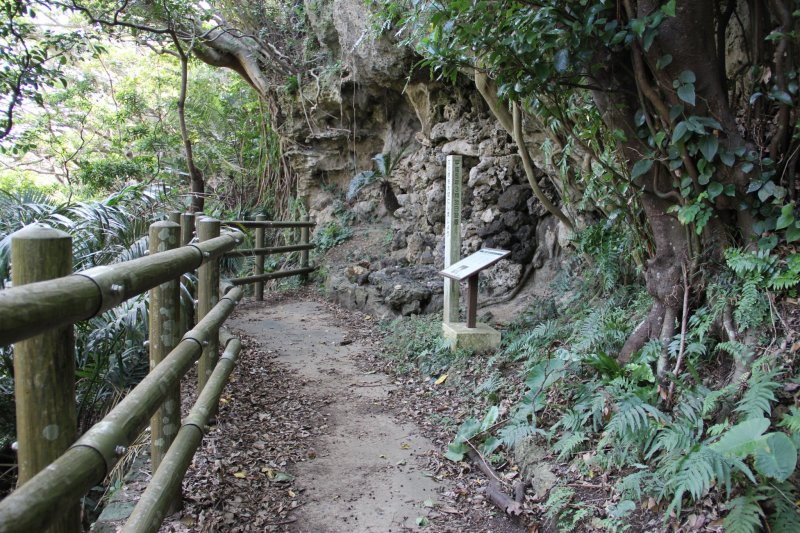 <p>The Iha Nuru Tomb may not seem too important by its humble appearance but is nontheless a very important site for the Ryukyuan and Okinawan culture</p>