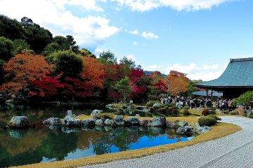 京都 天龍寺 方丈庭園