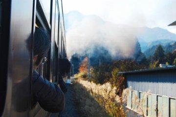 Curious where the train takes us