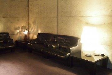 Bare concrete; minimalist yet sophisticated.