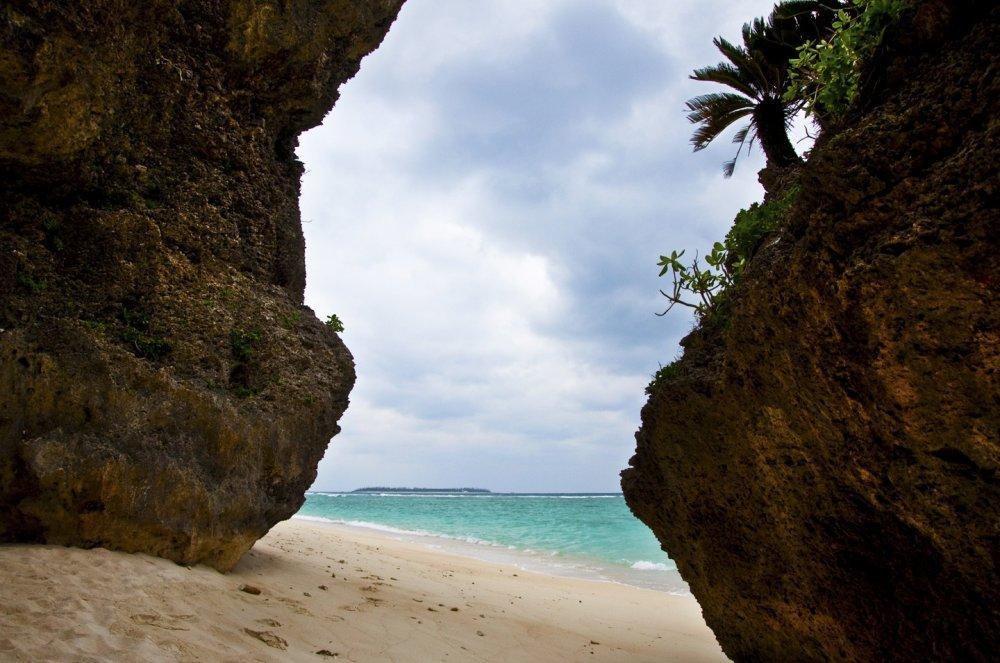 Vị trí yêu thích của tôi trên bãi biển Sesoko