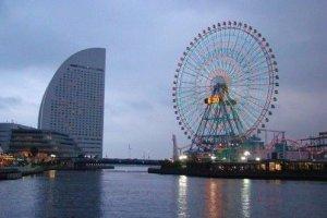美丽的横滨海湾