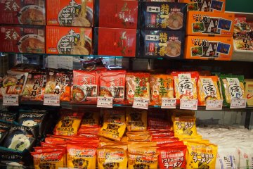 <p>Packet&nbsp;Asahikawa Ramen available for purchase in the Tourism and Local Products Information Center.</p>
