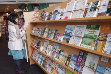 <p>A dizzying array of&nbsp;brochures are available. Probably&nbsp;the best way to find out more is still to approach the staff at the counter.</p>