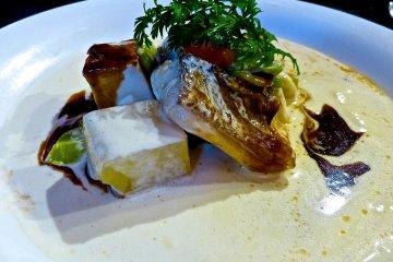 <p>Grilled whitefish</p>