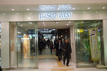 <p>Another mall&nbsp;joined to the station, Paseo West. There are many food options at the basement!</p>