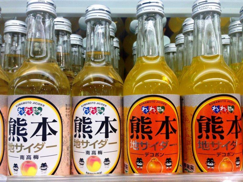 น้ำไซเดอร์ Kumamoto Ji Dekopon