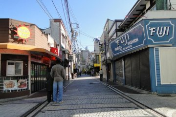 Dobuit Street in the morning.