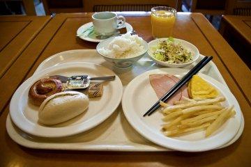 <p>My breakfast selection</p>