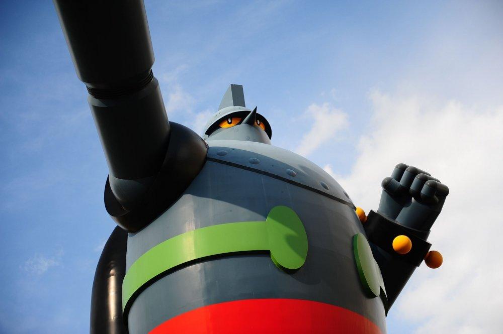 Chi tiết của con robot rất kinh ngạc.