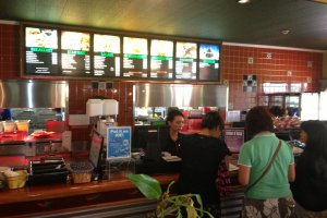 Dozens of the workers at the Chili's Restaurants on Kadena Air Base are placed by the bilingual job staffing agencies