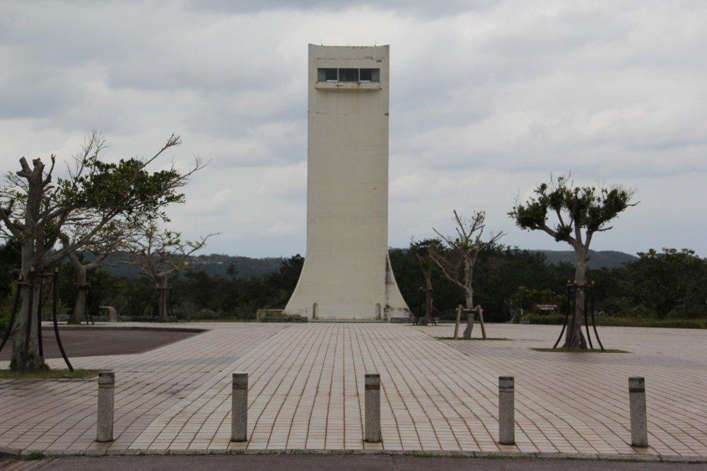 Tháp đập Kurashiki cao 41 mét; đài quan sát cách mặt đất 35 mét