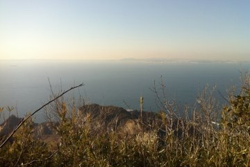 view from the hiking course