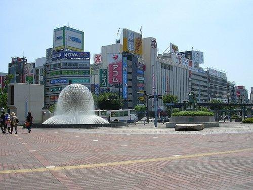 Just Outside Okayama Station