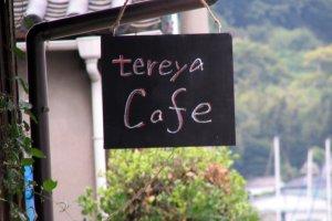 Cafe Tereya in Ushimado Town