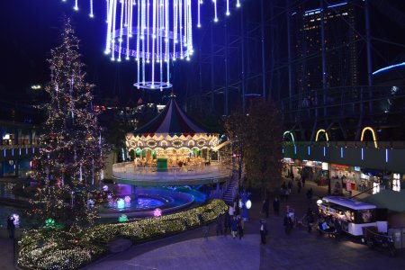 Огни, освещающие Токио Дом
