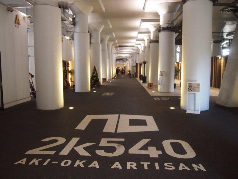 <p>Enter into the pure white designer space of 2K540.</p>