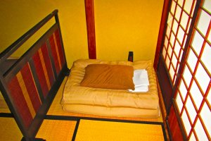 Comfort is not sacrificed by the ¥2950/night price