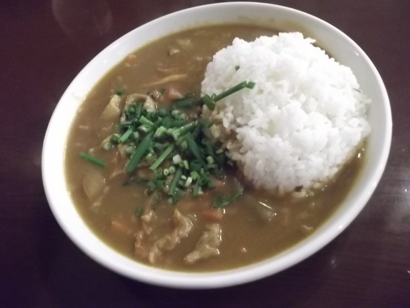<p>My tasty curry, nearly too big to fit in the frame</p>