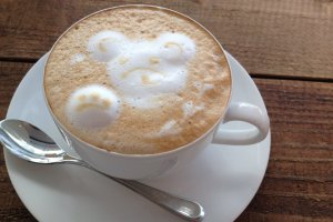 Cappuccino art is kawaii!