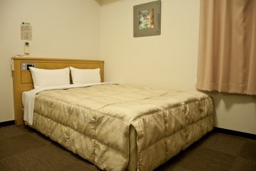 <p>A comfy bed for a restful sleep</p>