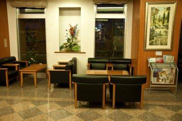 <p>Elegant resting area&nbsp;</p>