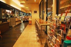 Inside of tourism center in Echigo-Yuzawa station