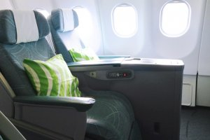 Finnair is all about light and space.