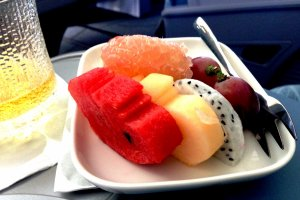 Light and delicious meals on Finnair